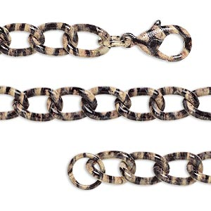 Chain Bracelets Steel Multi-colored