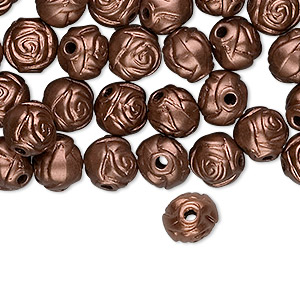 Beads Acrylic Browns / Tans