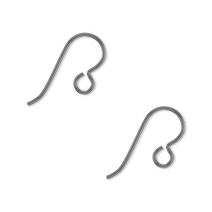 Hook Earwires Niobium Greys