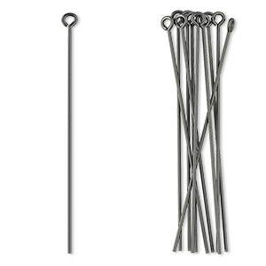 Eye Pins Niobium Greys