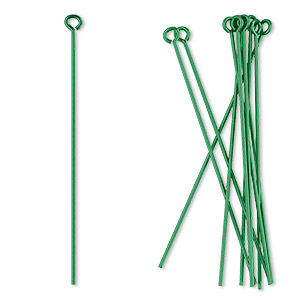 Eye Pins Niobium Greens