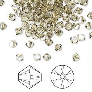 5328 Swarovski® Crystal Bicone Beads Jonquil Satin