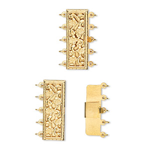 Box (Tab) Clasp Gold-Filled Gold Colored