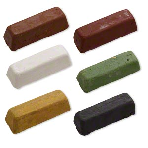 Polishing Compound Mixed Colors 250 Grit 5x1 1 2 Inches Sold Per 6 Piece Set Fire Mountain Gems And Beads