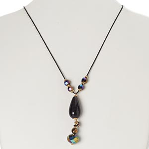Y Necklaces Multi-colored Everyday Jewelry