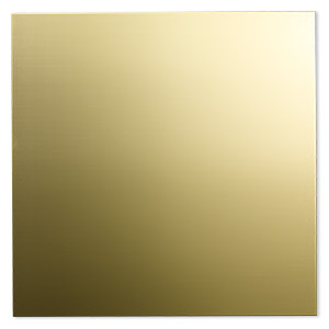 Metal Sheet Bronze Gold Colored