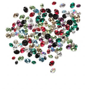Point-Back Swarovski Assorted Colors