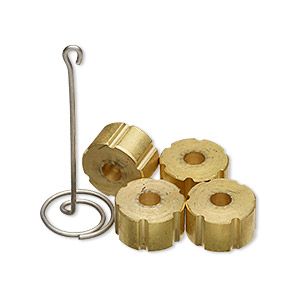 Knitting Tools Brass Gold Colored