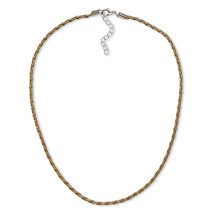 Necklace Bases Browns / Tans H20-4995JE