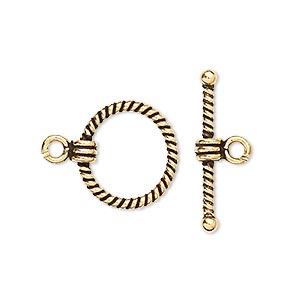 Toggle Vermeil Gold Colored