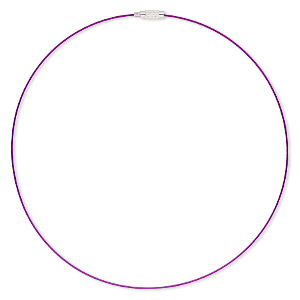 Other Necklace Styles Purples / Lavenders H20-5055JE