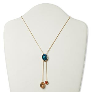 Lariat Gold Plated/Finished Multi-colored