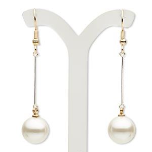 Fishhook Earrings Whites Everyday Jewelry