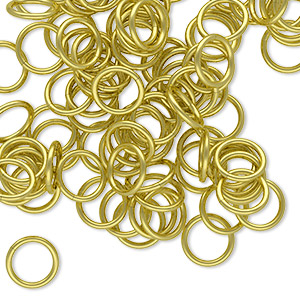 Open Jumprings Brass Gold Colored