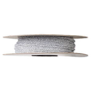 Cord Nylon Silver Colored
