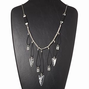 Other Necklace Styles Silver Colored Everyday Jewelry