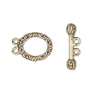 Toggle Gold Plated/Finished Gold Colored