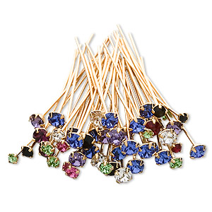 Decorative Cap Swarovski Assorted Colors
