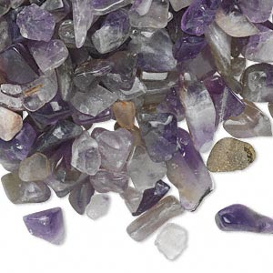 Undrilled Mini Chips Grade D Amethyst