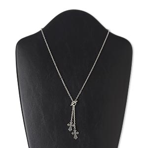 Lariat Silver Colored Everyday Jewelry