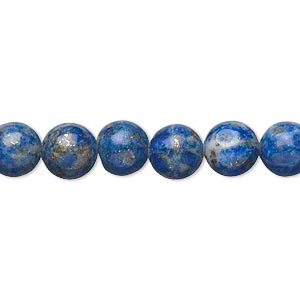 Beads Grade D Deep Blue Lapis