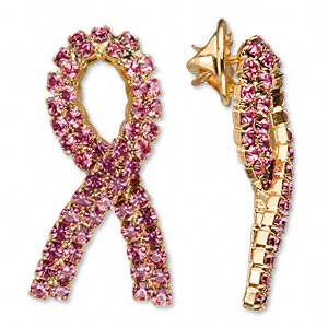 Brooches Gold Plated/Finished Pinks