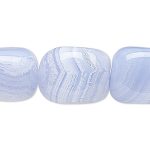 Beads Grade B Blue Lace Agate