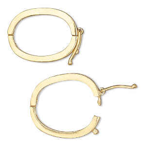 Clasp Jbb Findings Twister Style With Safety Quot Vermeil