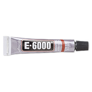 Adhesive e6000 jewelry and craft adhesive clear sold for Best glue for pearl jewelry