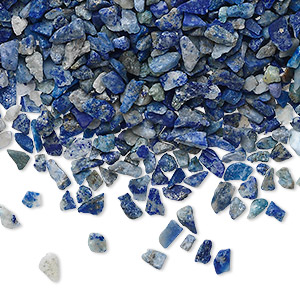 Undrilled Mini Chips Grade C Deep Blue Lapis