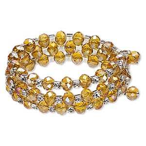Bangles Glass Yellows