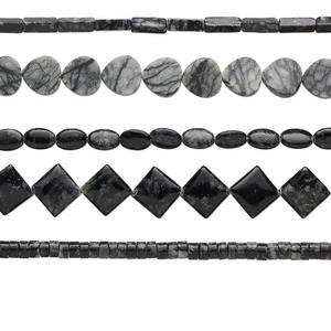 Beads Grade D Picasso Serpentine