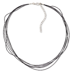 Necklace Bases Blacks H20-6302JD