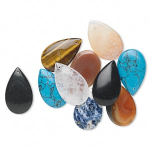 Focals Mixed Gemstones Multi-colored