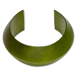 Cuff Bracelets Other Wood Greens