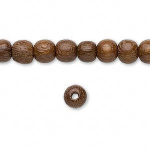 Beads Siamese Cassia Browns / Tans
