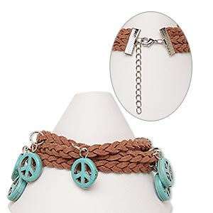 Other Bracelet Styles Leatherette Multi-colored