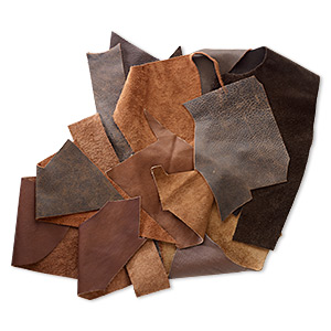 Leather Scrap Leather Browns / Tans