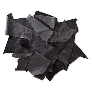 Leather Scrap Leather Blacks