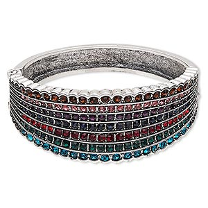 Bangles Silver Plated/Finished Multi-colored