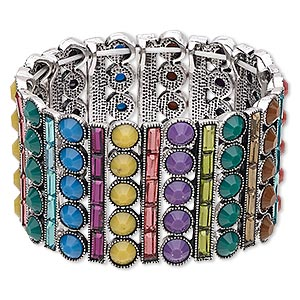 Stretch Bracelets Multi-colored Everyday Jewelry