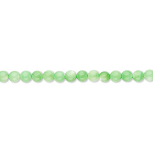 Beads Mother-Of-Pearl Greens
