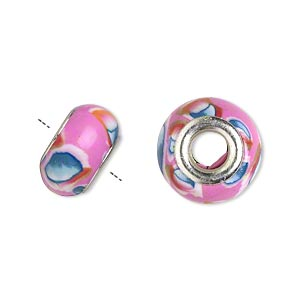 Beads Polymer Clay Multi-colored