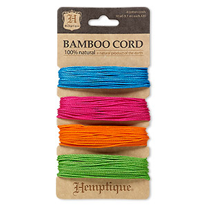 Cord Bamboo Mixed Colors