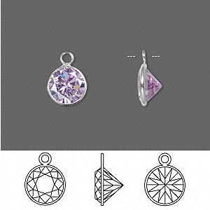 Drops Sterling Silver Purples / Lavenders