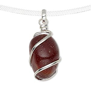 Pendants Red Agate Reds