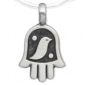 Pendants Pewter Greys