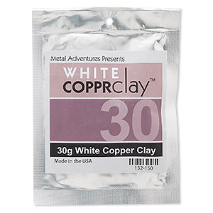 COPPRclay™, White, 1850-degree Formula. Sold Per 30-gram Pkg 132-150