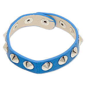 Other Bracelet Styles Leatherette Blues