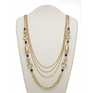 Other Necklace Styles Gold Colored Everyday Jewelry